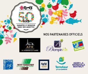 50 ANS RUNGIS : Nos partenaires